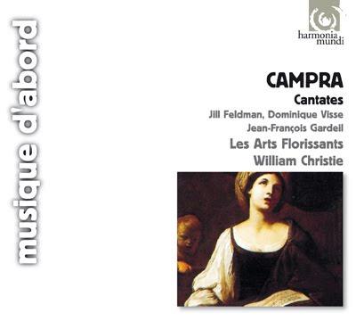 Cantatas de Campra por Christie