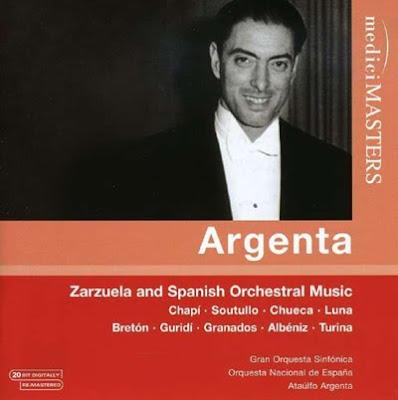 Música española interpretada por Ataúlfo Argenta en Medici Masters