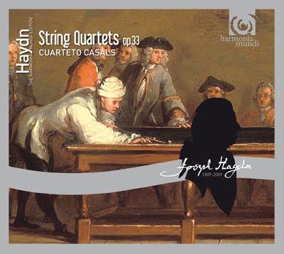Haydn - Op.33. Cuarteto Casals
