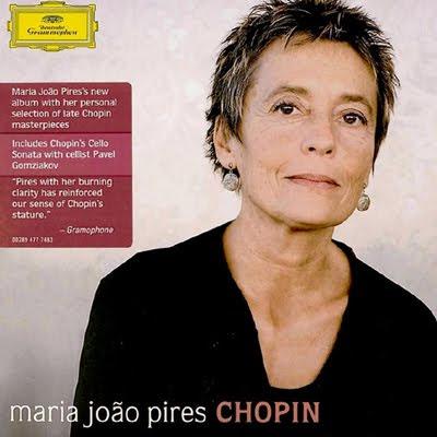 Nuevo álbum Chopin de Maria João Pires en DG