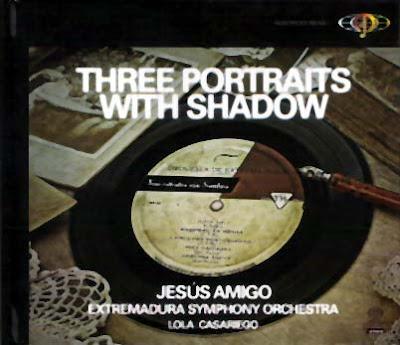 Three portraits with shadow, música de Rodolfo y Ernesto Halffter y Julián Bautista por Lola Casariego y la Orquesta de Extremadura dirigida por Jesús Amigo