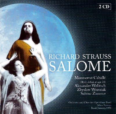 Salomé de Strauss en Basilea en 1958