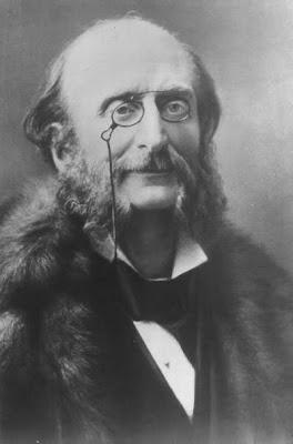 Jacques Offenbach fotografiado por Nadar