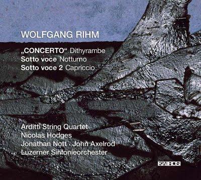 Obras concertantes de Rihm en Kairos