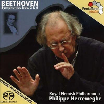 2ª y 6ª de Beethoven por Herreweghe en Pentatone