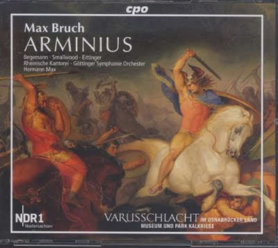 Arminius de Bruch por Hermann Max