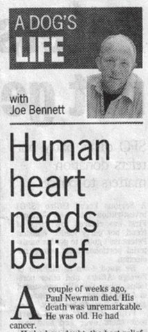 Human Heart Needs Belief