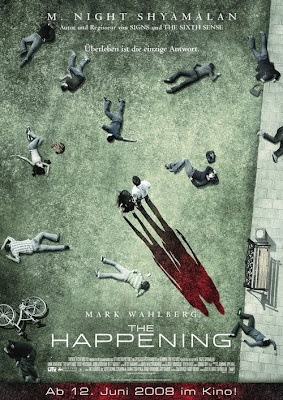 The Happening German poster