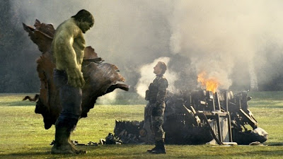 The Hulk vs Blonsky