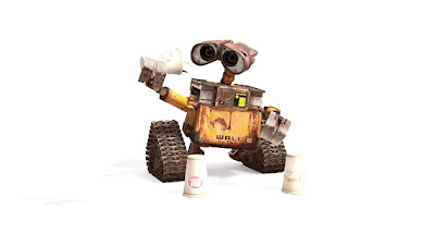 Wall-E meets cups