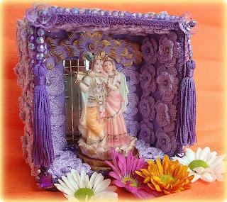 decoração em croché