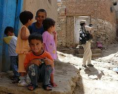 Uzunov filming in Afghanistan 2008