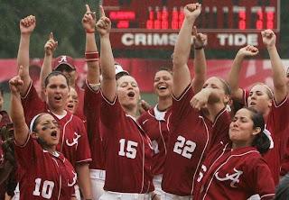 Alabama crimson tide softball