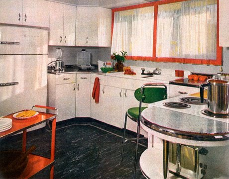 C dianne zweig kitsch 39 n stuff looking at 1950 39 s for Kitchen cabinets 50 style