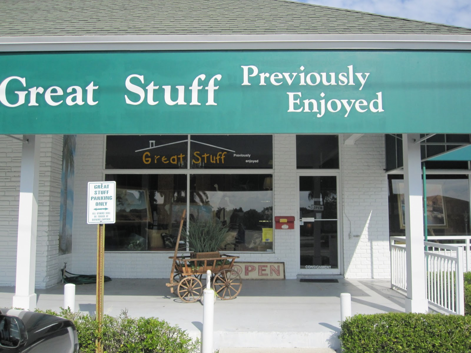 Great Stuff, At 901 B George Bush Blvd. In Delray Beach Was, Without A  Doubt, The Highlight Of Our Tour. It Is A Well Curated And Beautifully  Merchandised ...