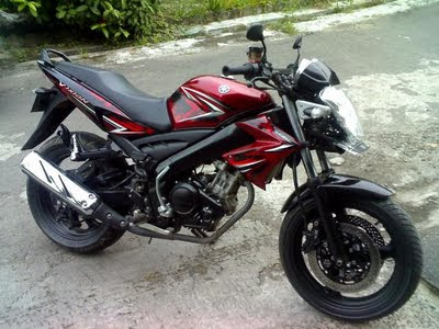 Modifikasi Yamaha Vixion with Full Fairing