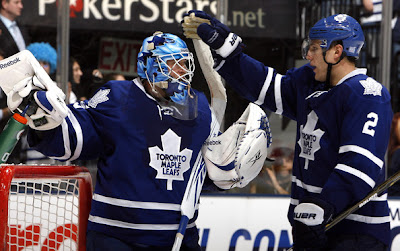 giguere schenn leafs