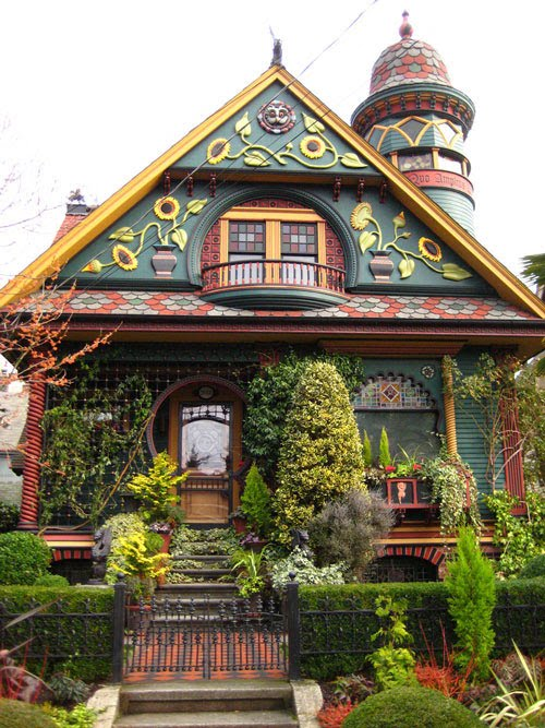Amazing fairy tale houses in the real world part 1 3 for Amazing houses inside
