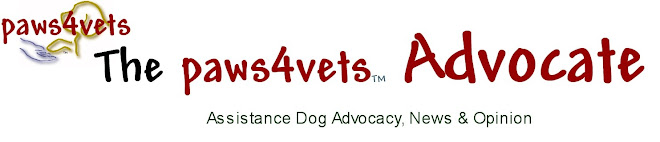 the paws4vets advocate