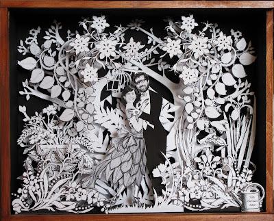 Tati Galiano. La viajera mas lenta. Arte en cajas. Paper sculpture. Jimera & Ignacio. 2010
