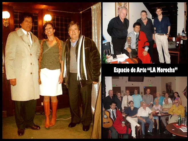 """Con los Amigos del Espacio De Arte """"La Morocha"""" de Mirta Vidazo"""