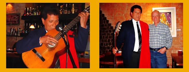 Dardo Noguera y Donato Perrone en el Cafe Monserrat