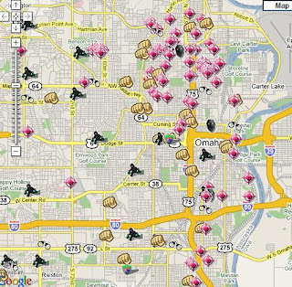 SpotCrime - The Public's Crime Map: September 2008 on eau claire crime map, omaha most wanted, grand island crime map, richardson crime map, kentucky crime map, nevada crime map, waco crime map, muskegon crime map, wyoming crime map, columbus crime map, topeka crime map, alabama crime map, saint paul crime map, dubuque crime map, chico crime map, eugene crime map, pueblo crime map, muncie crime map, champaign crime map, el paso crime map,