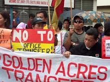 SWEAP NCR Protest Against GA Transfer