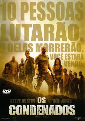 Filme Poster Os Condenados DVDRip RMVB Dublado