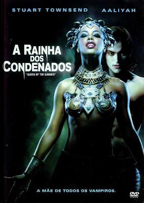 Filme A Rainha dos Condenados DVDRip RMVB Dublado