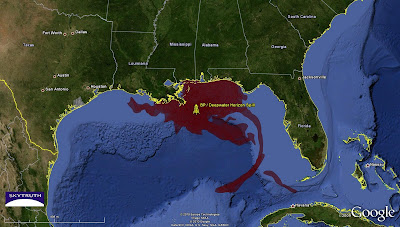 Cumulative footprint of the 2010 BP/Deepwater Horizon spill in the Gulf of Mexico