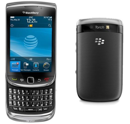menggunakan OS BlackBerry