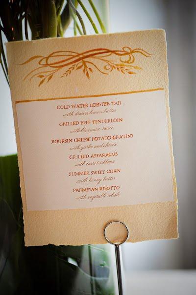 WEDDING CALLIGRAPHY SAMPLER