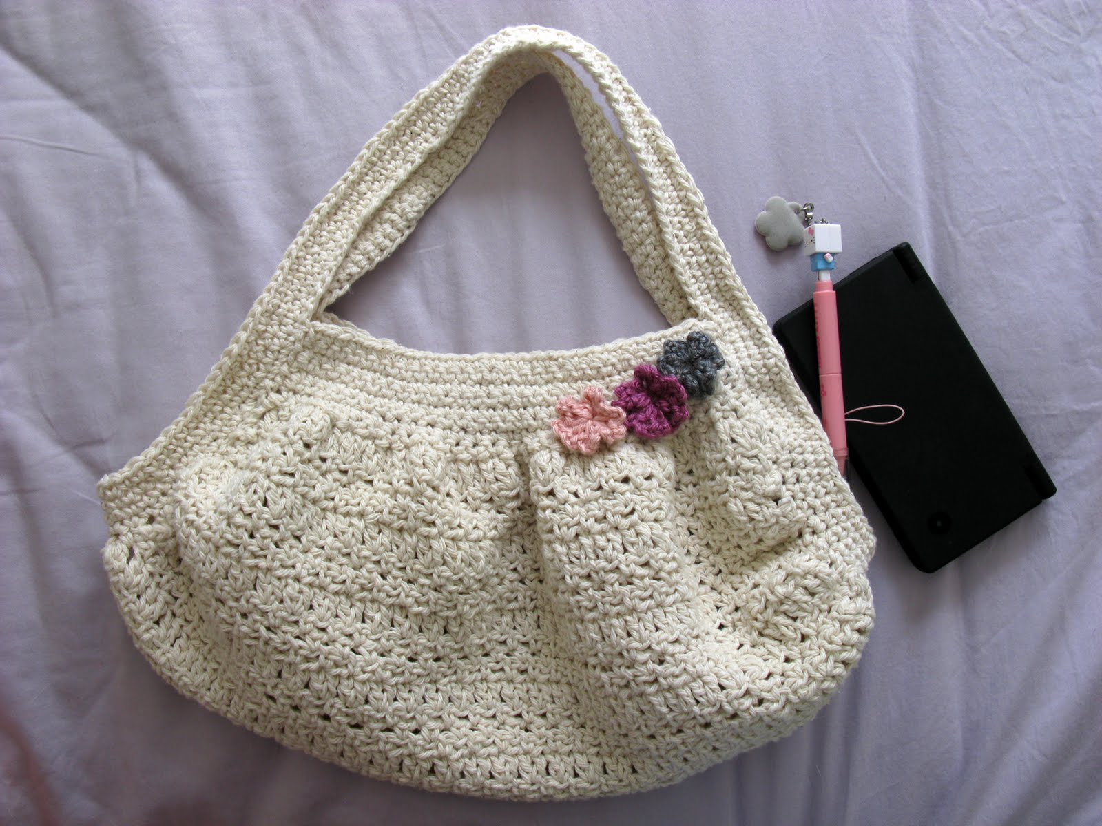 Easy Crochet Mesh Bag Pattern : Crochet Mesh Bag Pattern Free Patterns For Crochet