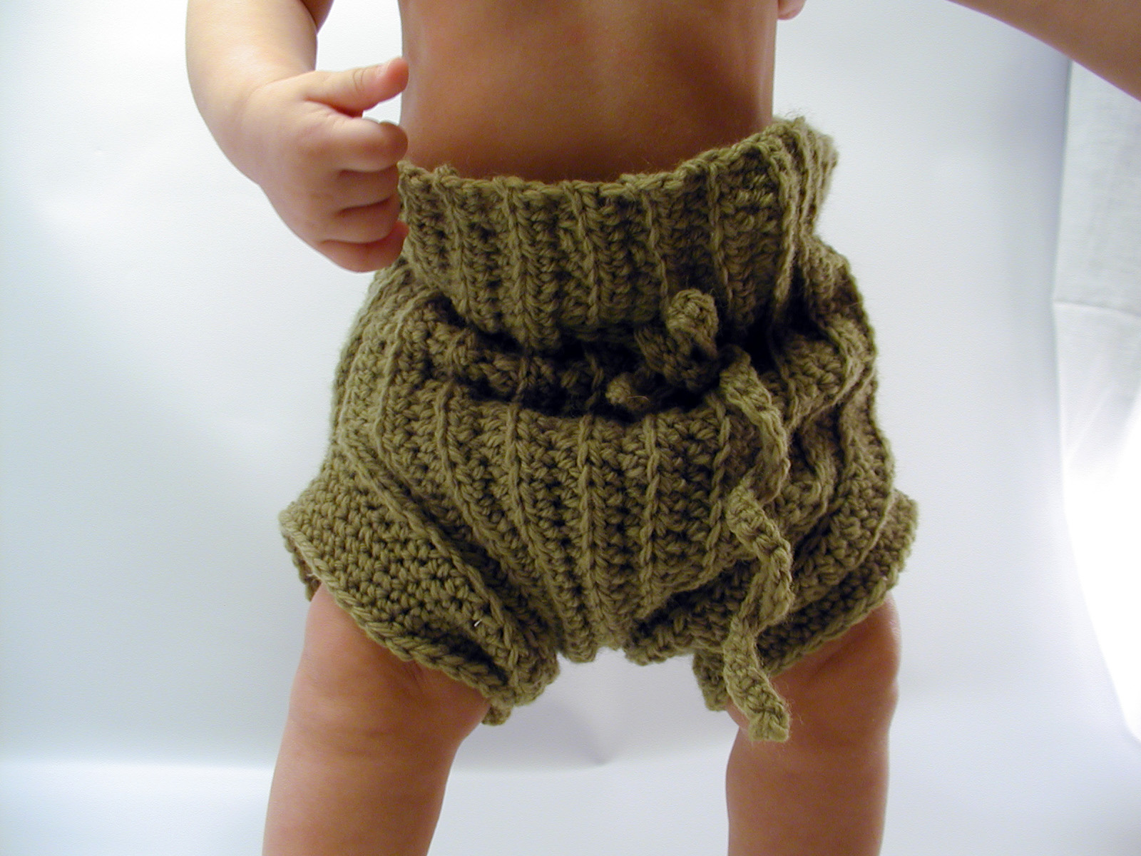 Art By Waiyi Crochet First Wool Soaker For Lukie With Free Pattern