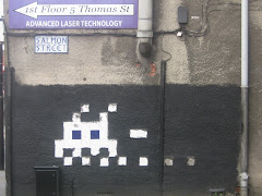 Space Invader - Salmon Street MCR