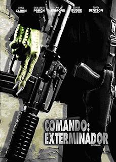 Comando Exterminador - Dual Áudio Hud Mosters é um serial killer condenado a morte e sabe como é mal e merece a morte. Após este depoimento, se vê numa perseguição e luta contra uma linda mulher incrivelmente treinada, esta não ê uma luta fácil para Hud.