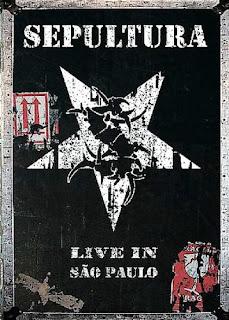 Sepultura - Live In Sao Paulo Tamanho : 699 mb Resolução : 624 x 352 Frame Rate : 25 Fps Formato : DVDRip Qualidade de Áudio : 10 Qualidade de Vídeo : 10