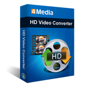 4Media HD Video Converter 5.1.18 Portable 4Media HD Video Converter é um programa para converter vídeos comuns em vídeos HD (high-definition), compatíveis com dispositivos como: iPod, PSP, Playstation 3, Zune, Apple TV e celulares.