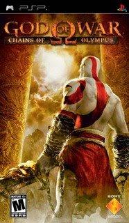God Of War: Chains Of Olympus (PSP)  God of War: Chains of Olympus é o terceiro jogo da série — o primeiro no PSP — de ação em terceira pessoa que fez imenso sucesso no Playstation 2.