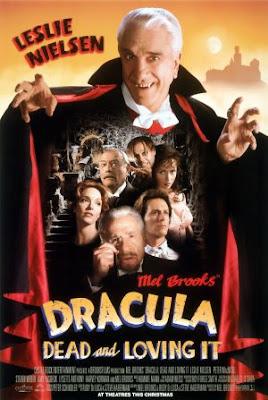 Drácula - Morto Mas Feliz Paródia da história de Bram Stoker. Aqui, rico inglês é atacado pelo Conde Drácula, e Van Helsing entra em cena para salvar todos e garantir a maior confusão.