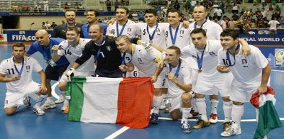 Italy celebrate bronze