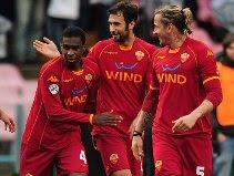 Napoli 0-3 Roma
