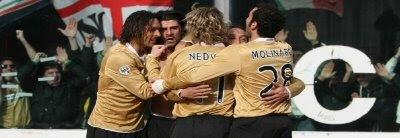 Catania 1-2 Juventus
