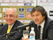 Adriano Galliani & Leonardo