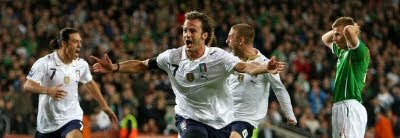 Republic of Ireland 2-2 Italy