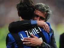 Javier Zanetti & Jose Mourinho