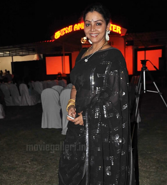 fathima babu transparent saree