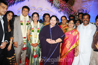 saidai s duraisamy son wedding