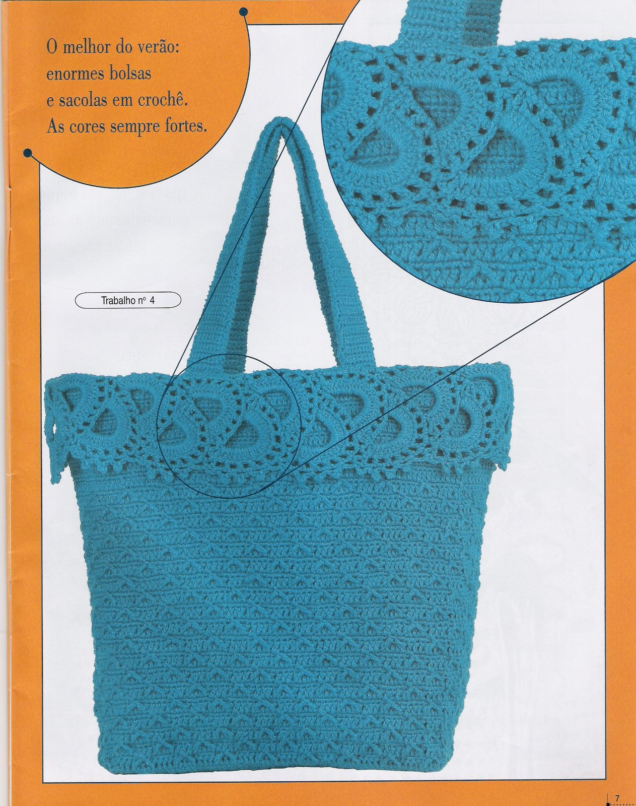 Вяжем сумки крючок модное вязание ниола 28